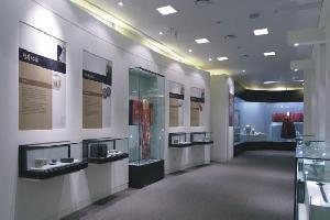 开发区博物馆展柜
