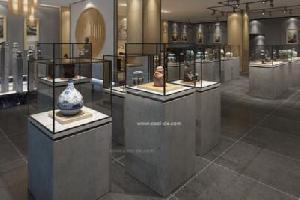 齐齐哈尔某博物馆展柜制作